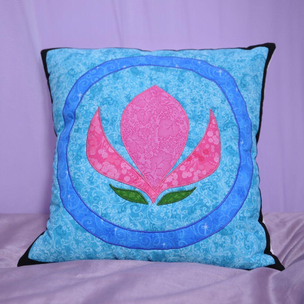 Elsa Inspired Cushion Cover