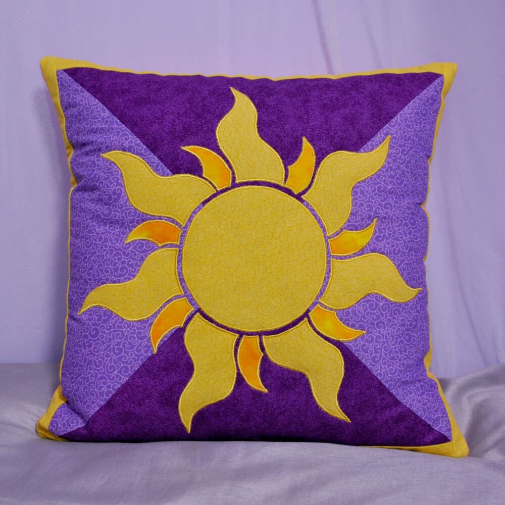 Tangled Inspired Cushion Cover