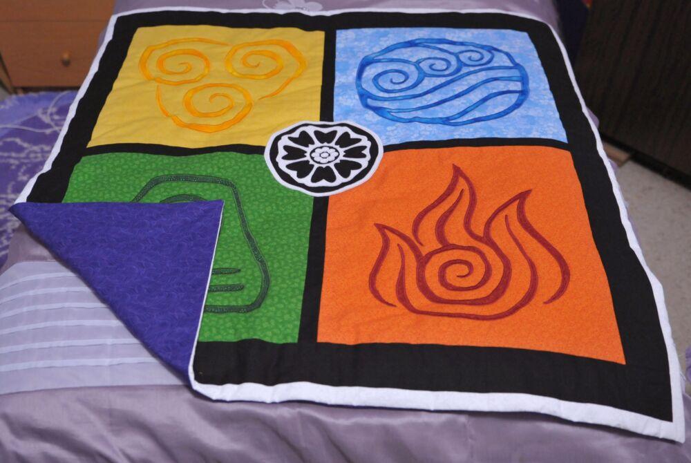 Avatar Elements Lap Quilt