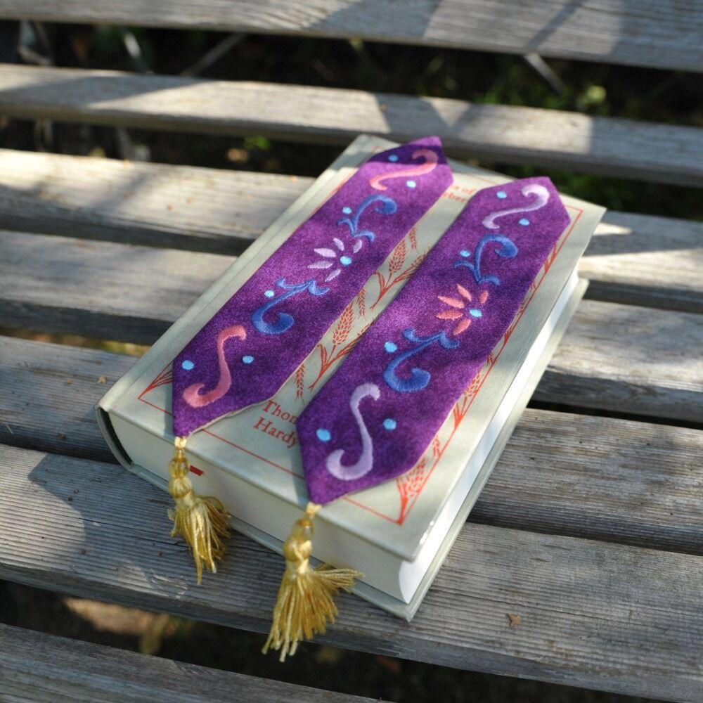 Princess motif bookmarks